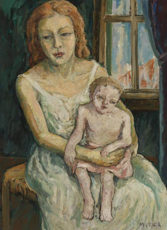 Mother and her Baby Son (Mère et son enfant)