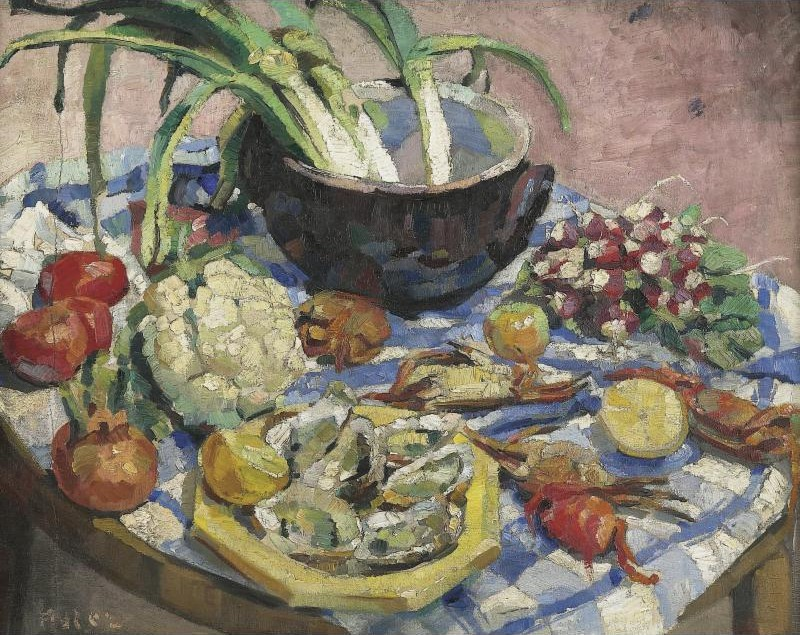 Still Life with Oysters and Crabs