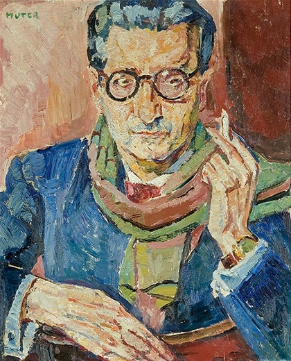 Portrait of a Man in Glasses