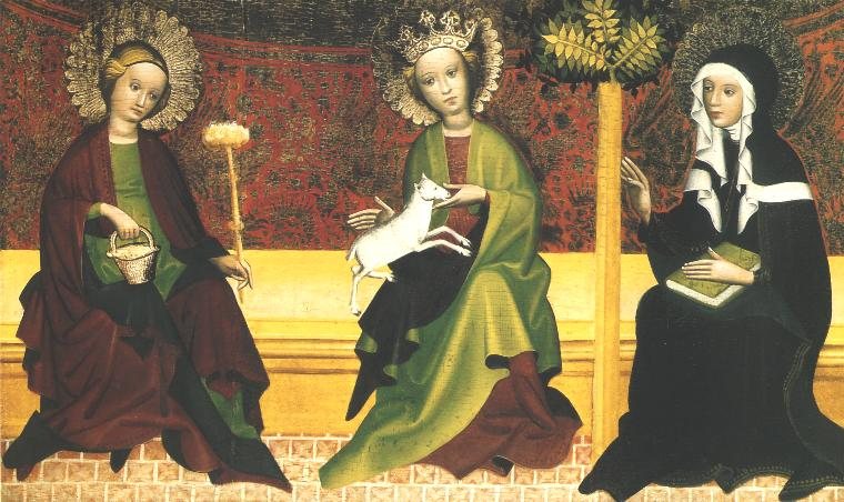 St. Martha, Agnes and Clara