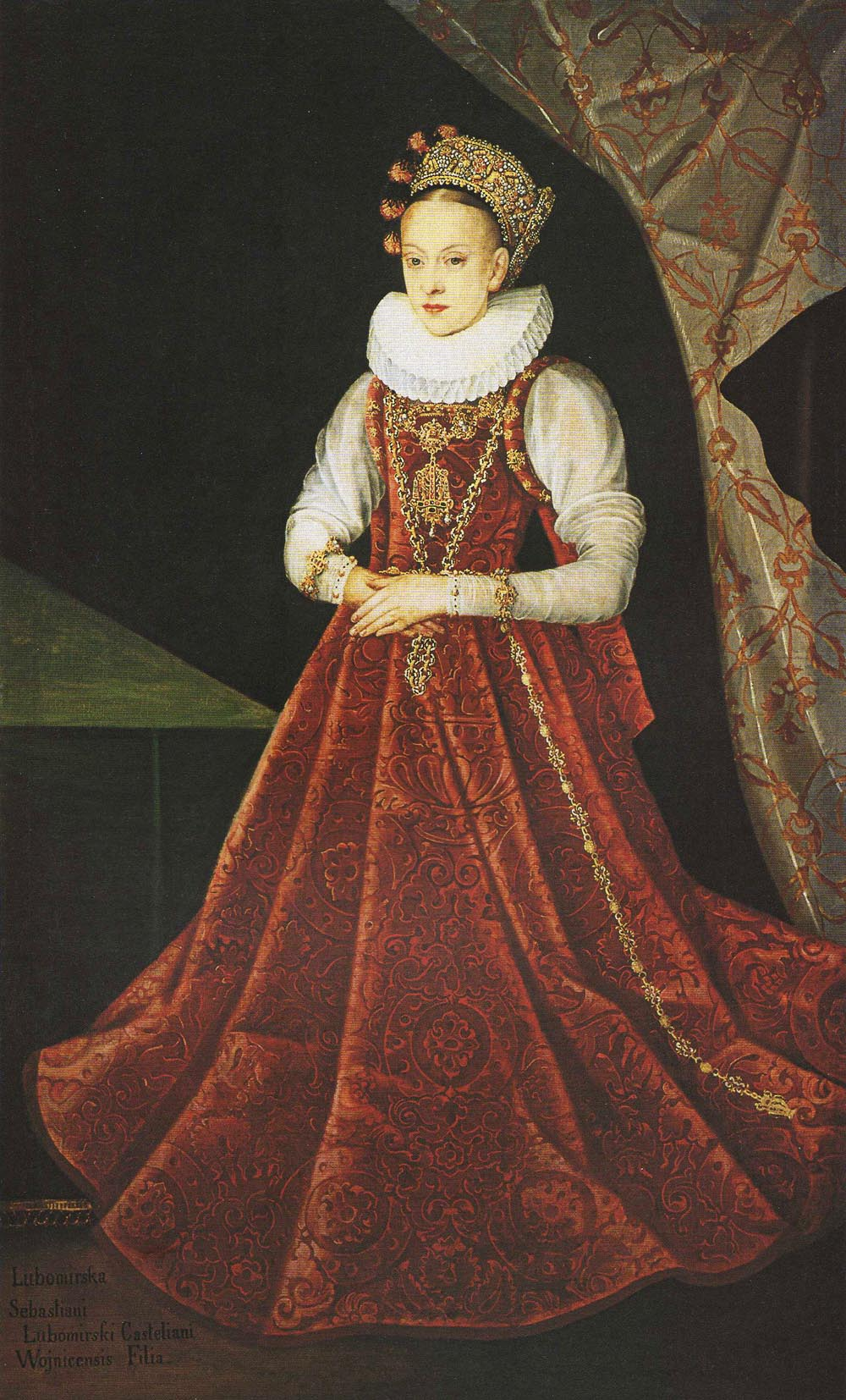 Portrait of the Daughter of Sebastian Lubomirski