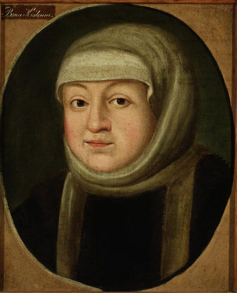 Portrait of Bona Sforza, the Queen of Poland and the Great Princess of Lithuania