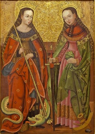 St. Catherine and Margaret