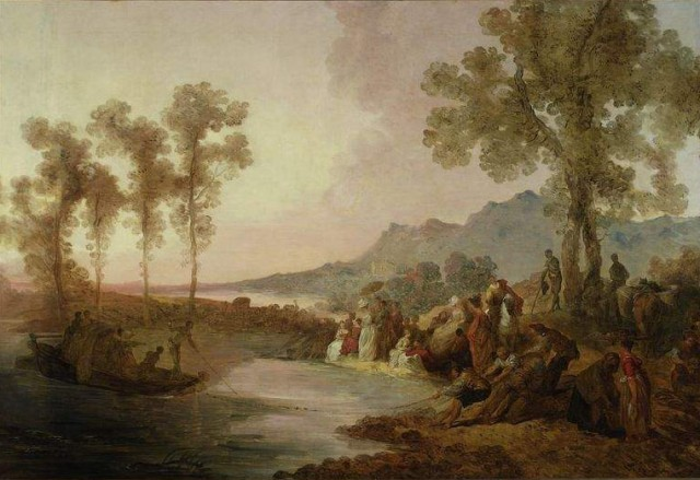 Society on Excursion to a Lake