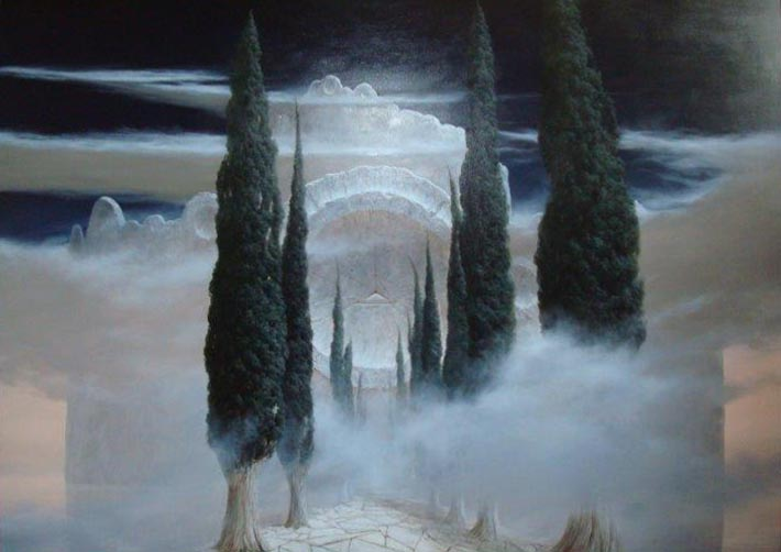 Alley of Cypresses