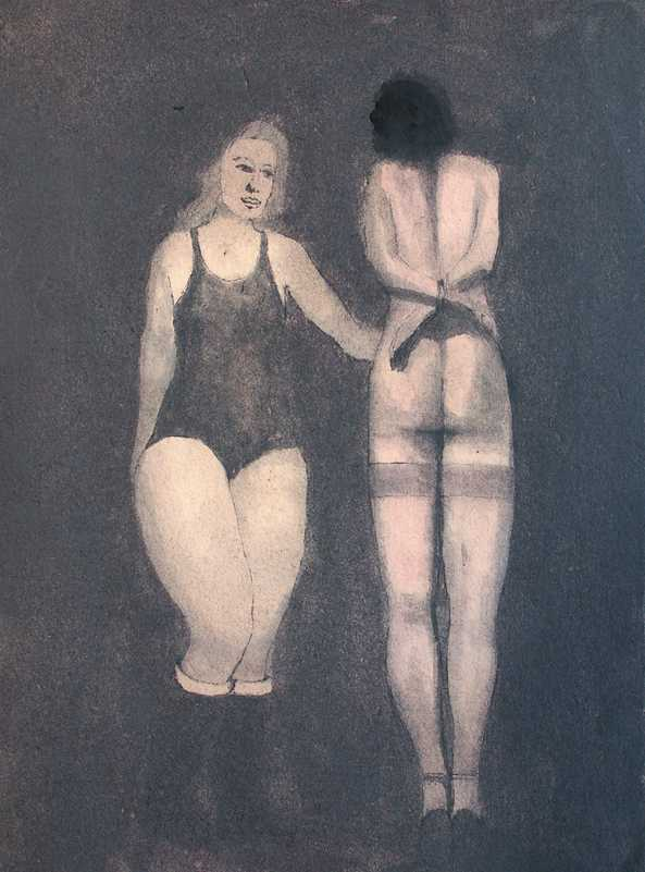 Two Woman Figures