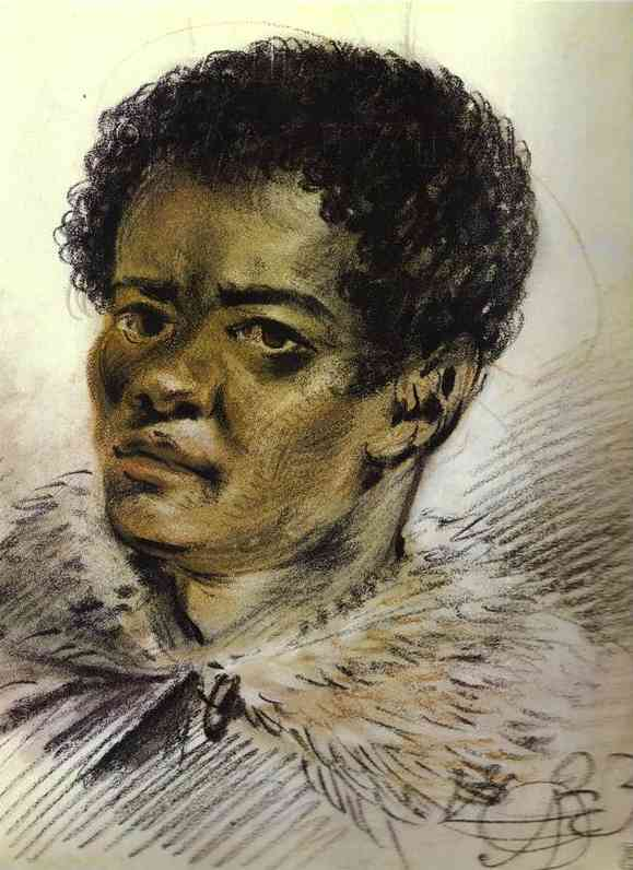 Portrait of a Negro, Orlowski's Servant