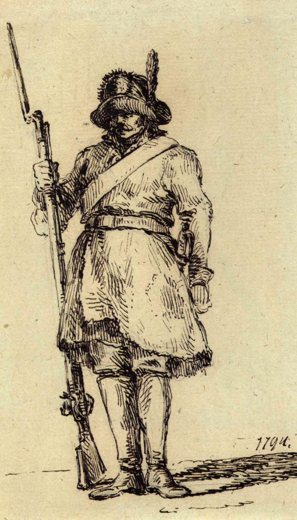 Soldier of the Kosciuszko's Army