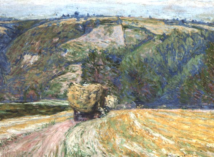 Landscape with a Hay Cart