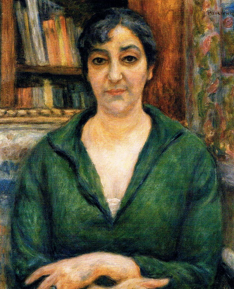 Portrait of the Artist's Wife in a Green Sweater