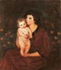 Portrait of a Woman with Child