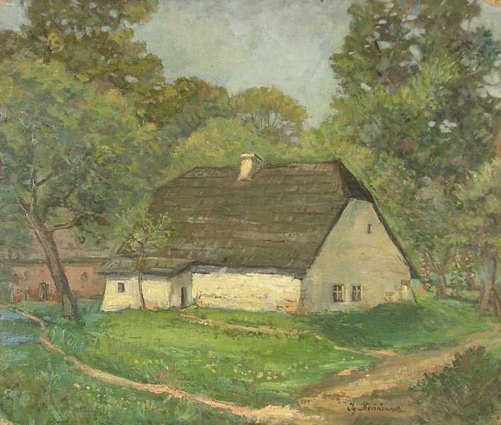 Cottage among Trees