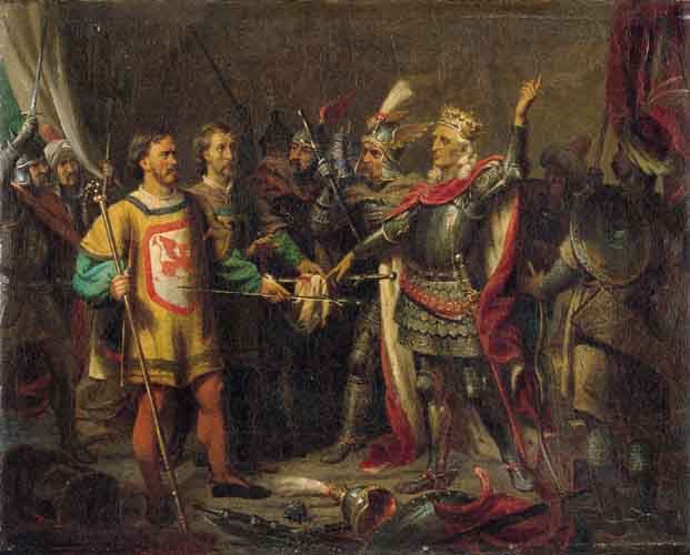 King Ladislaus Jagiello before the Battle of Grunwald