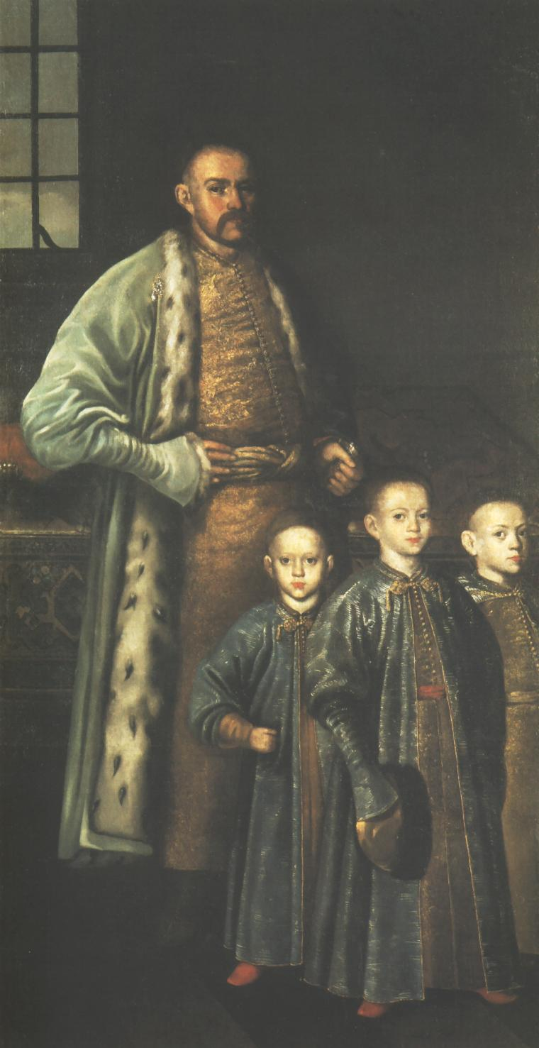 Portrait of Zbigniew Ossolinski and his Sons