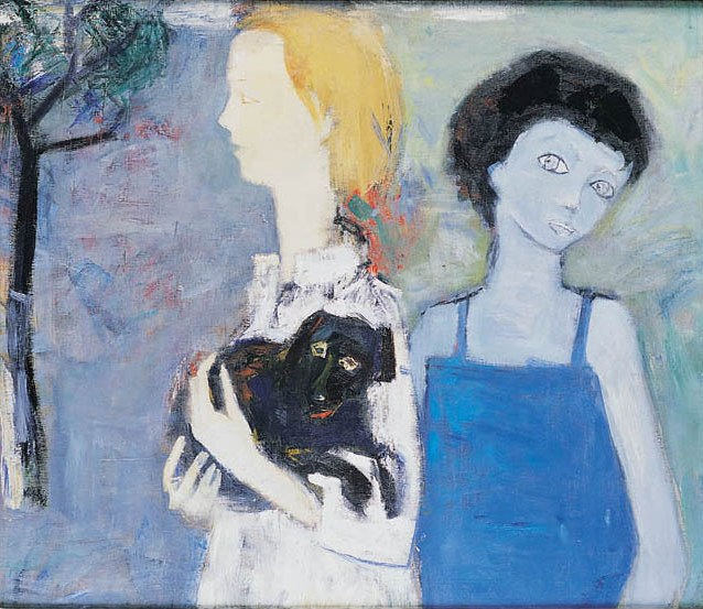 Portrait of Two Women (Artist's Wife Doreen Heaton-Potworowska and Teresa Pagowska)