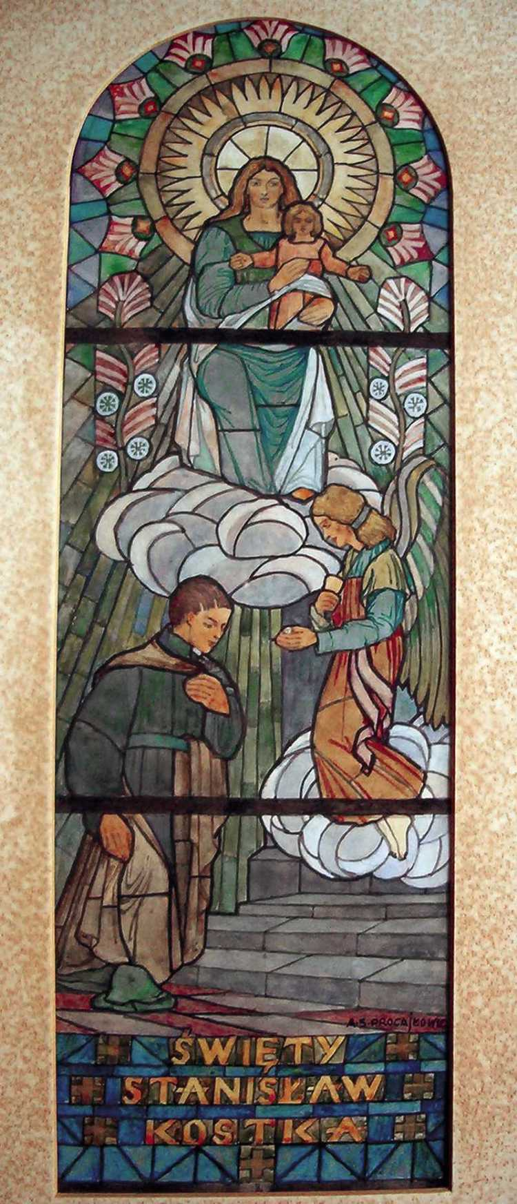 Design of a Stained Glass Window