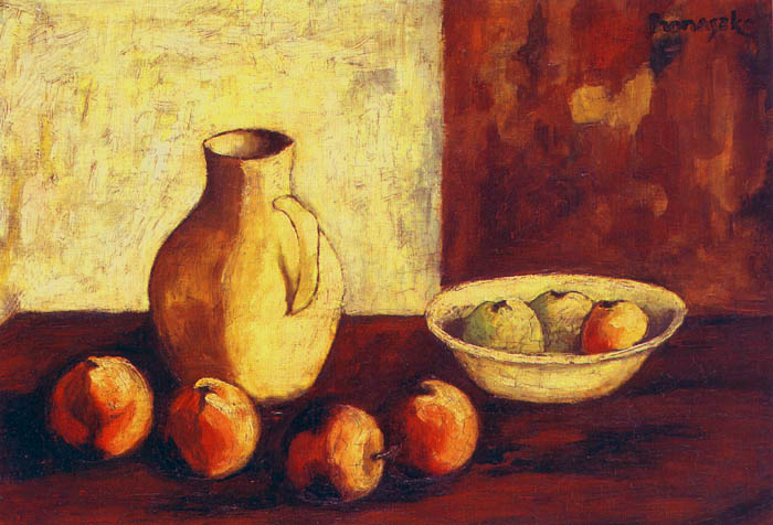 Still Life With A Jug and Apples