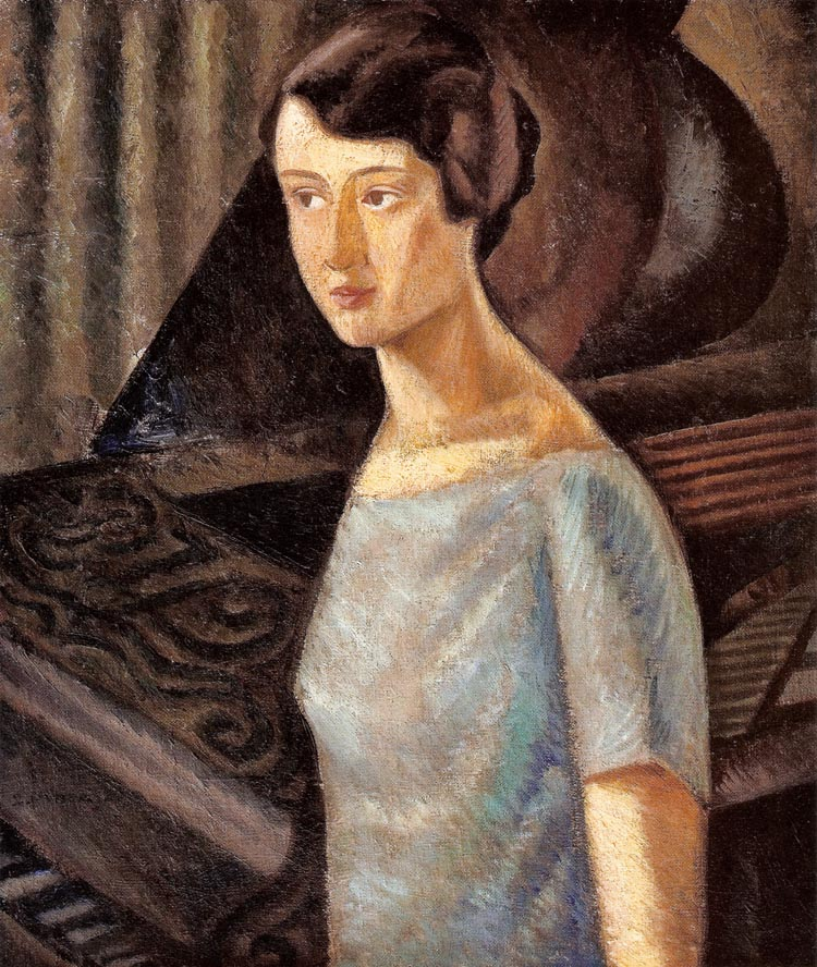 Artist's Wife at a Piano