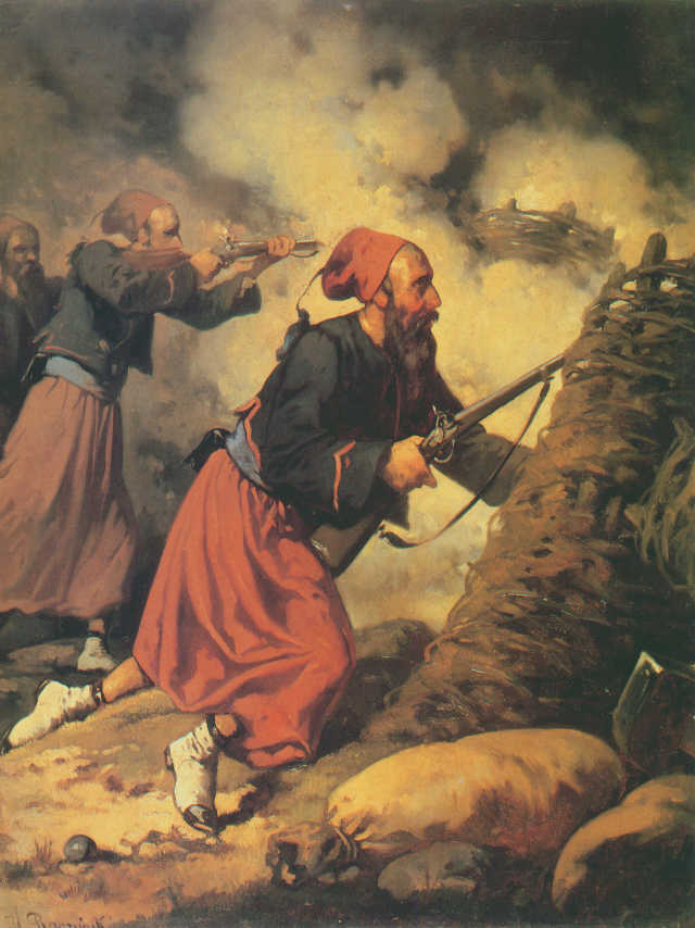 Zouave Fighting