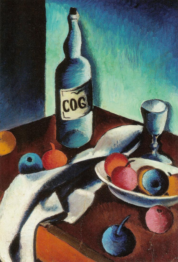 Still Life with a Bottle of Cognac