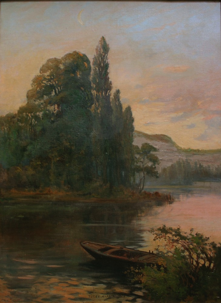 Landscape with a Boat