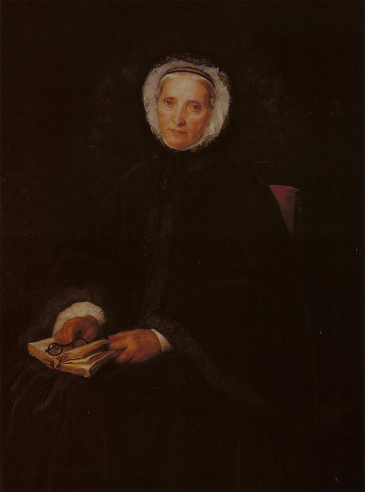 Portrait of the Artist's Aunt Babetta Singer