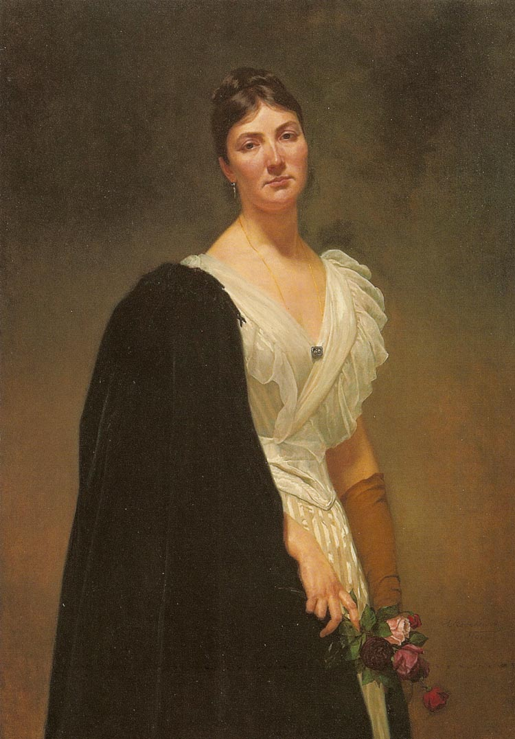 Portrait of the Artist's Daughter, Maria Wozniakowska