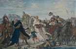 Hetman Koniecpolski Liberates Prisoners from the Turks at Halych