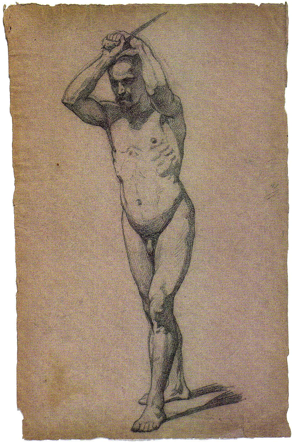 Nude Study of a Prisoner