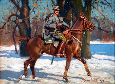Soldier on Horseback