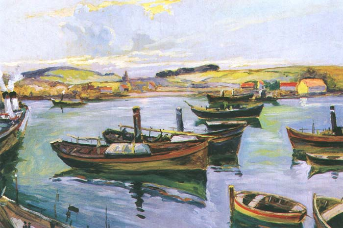 Boats in a Port