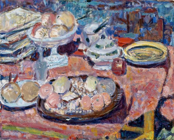 Still Life with Pink Cloth