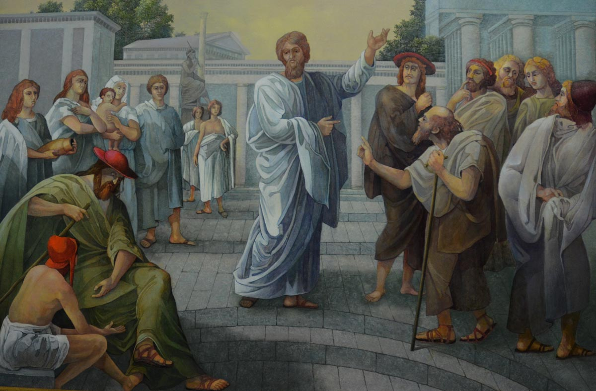 Paul Before the Areopagus in Athens
