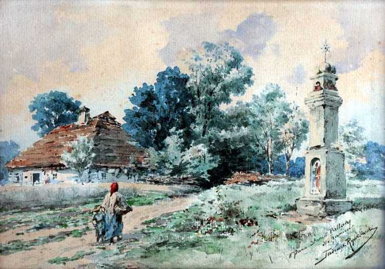Rural Landscape with a Shrine
