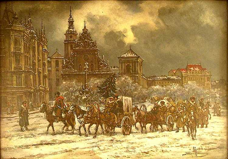 Christmas Eve 1914, Lviv