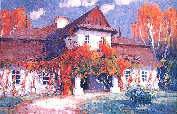 Manor House in Autumn