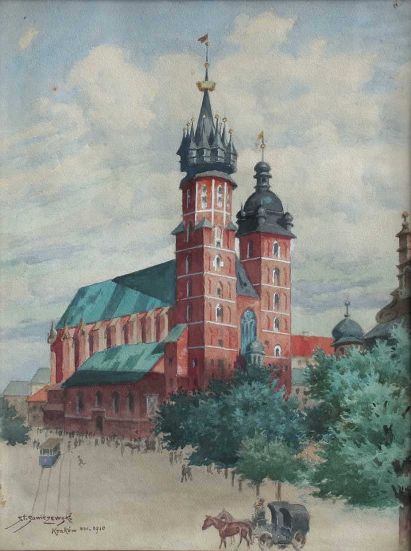 St. Mary's Church in Cracow