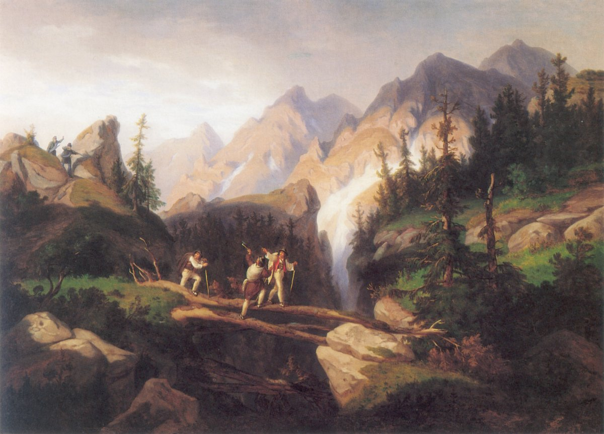 Smugglers in Tatra Mountains