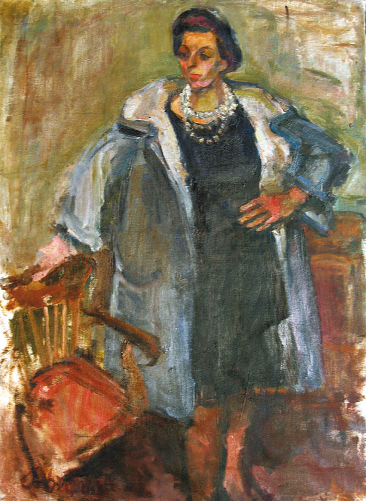 Woman in a Coat