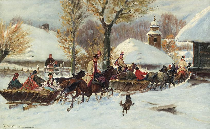 Sleigh Ride to Church