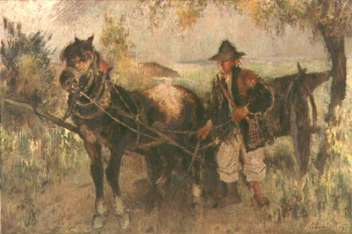 Boy with a Horse