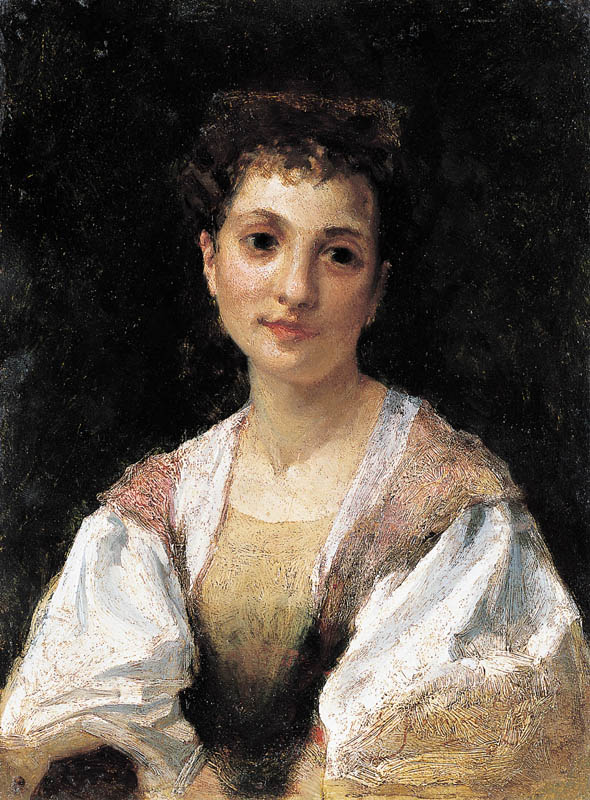 Portrait of a Young Italian Woman