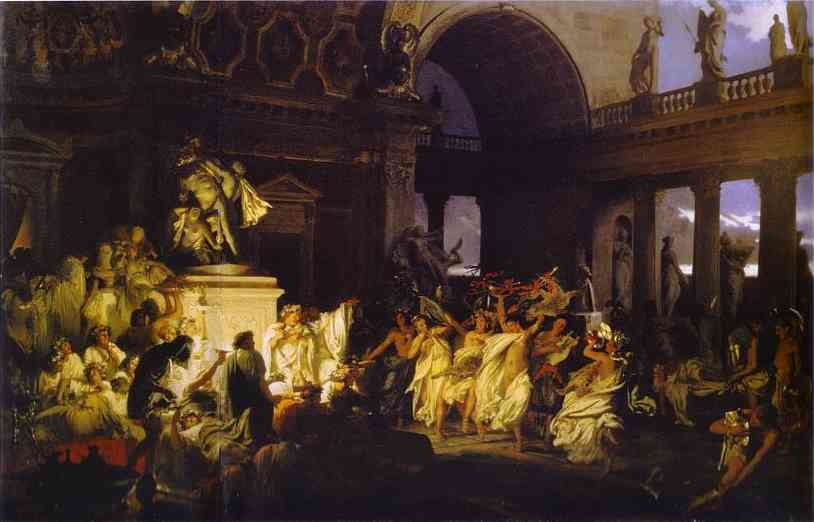Roman Orgy in the Time of Caesars