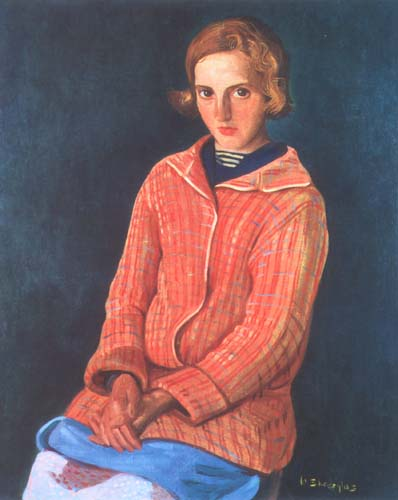 Portrait of a Girl in a Red Sweater