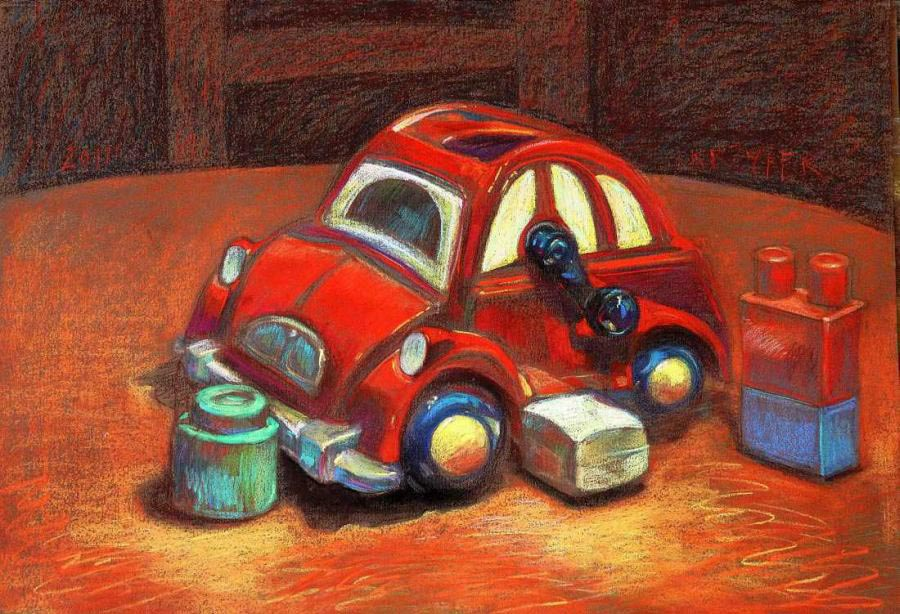 Still Life with a Little Car