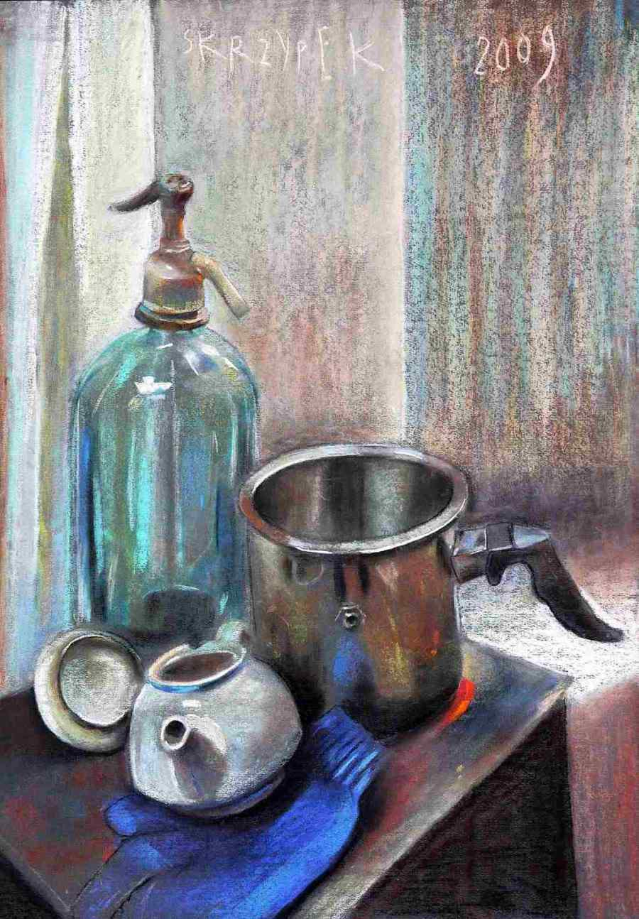 Still Life with a Siphon Bottle