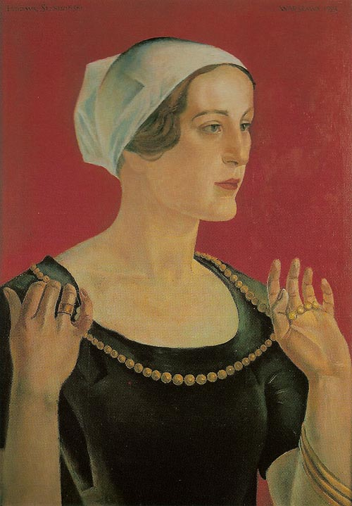 Portrait of a Lady with a Necklace