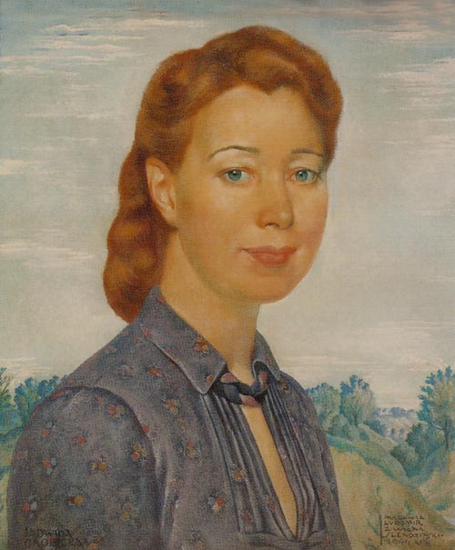 Portrait of Jadwiga Grobicka
