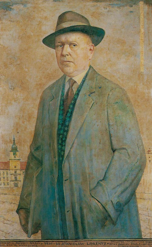 Portrait of Stanislaw Lorentz