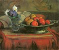 Still Life with a Silver Bowl and Fruit